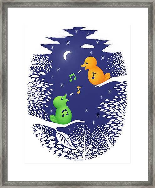 Heart Song Framed Print