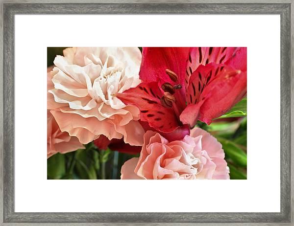 Heart's A Flutter Framed Print