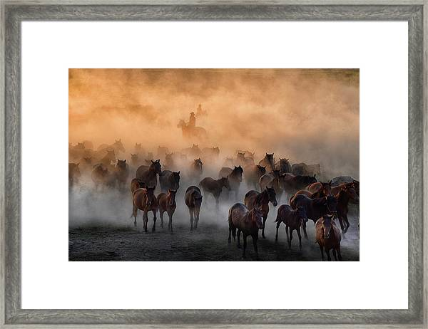Heat To Cold Framed Print