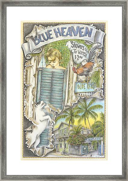 Heaven On A Fork Framed Print by Mike Williams