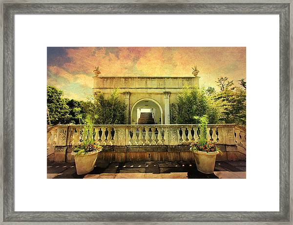 Heavenly Gardens Framed Print