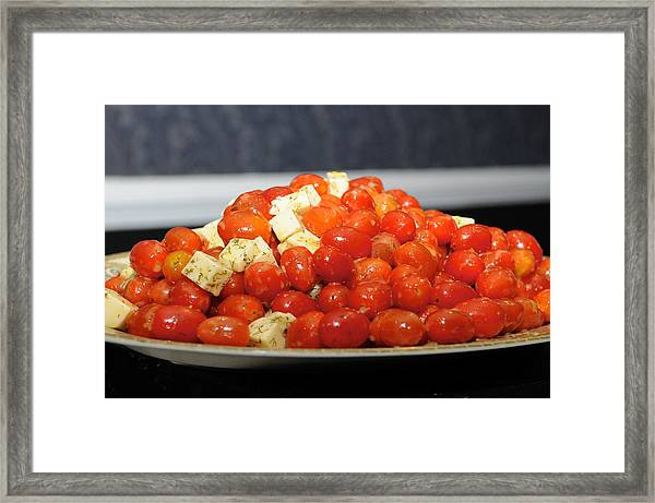 Heavenly Tomatoes Framed Print