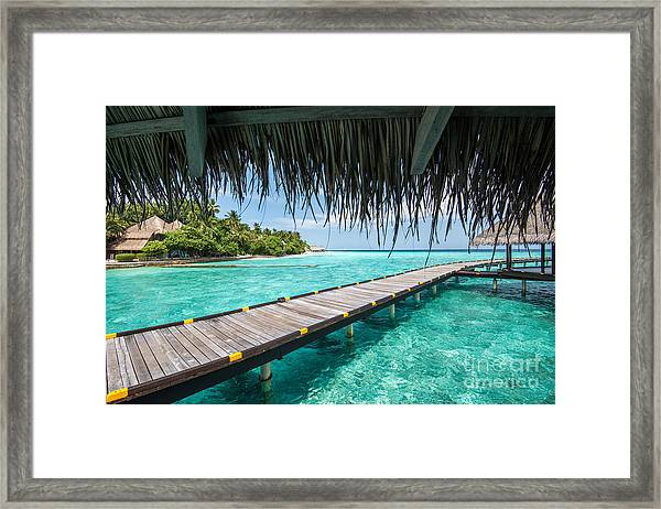Heavenly View Framed Print