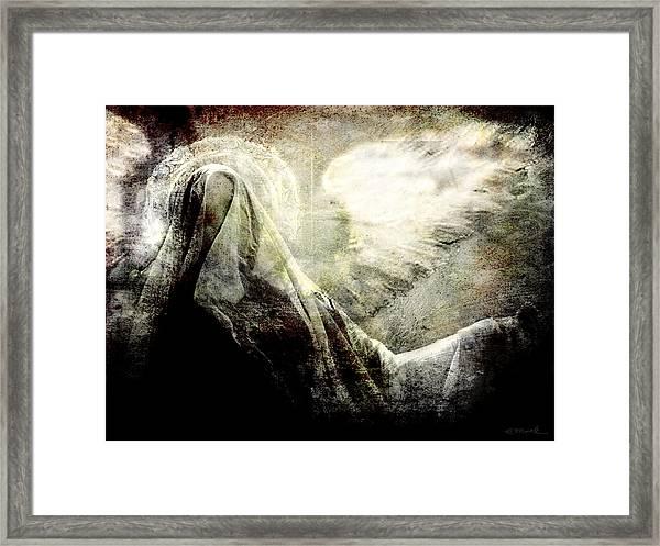 Heavens Shroud Framed Print
