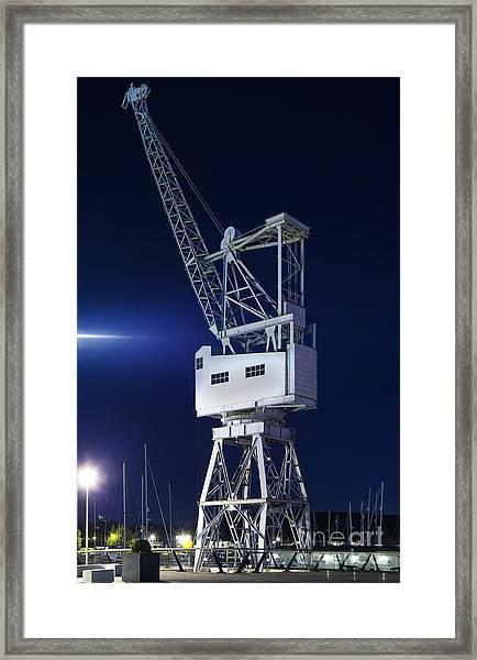 Heavy Lift Framed Print