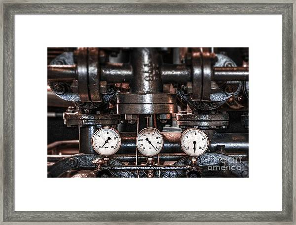 Heavy Machinery Framed Print