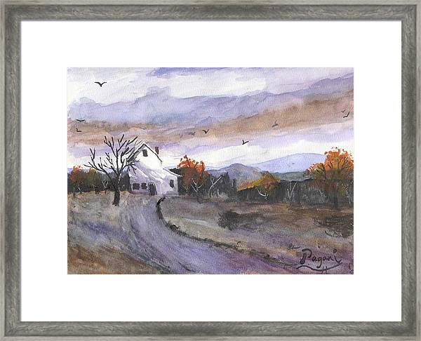 Hebo Farmhouse Framed Print