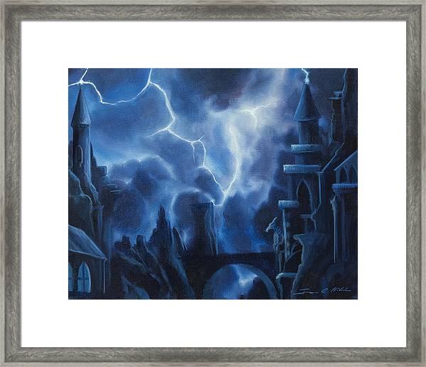 Heisenburg's Castle Framed Print