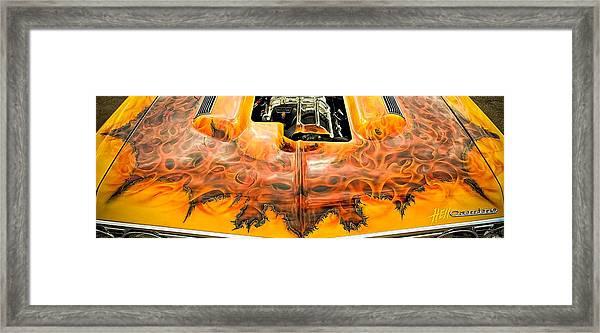 Hell Camino Framed Print