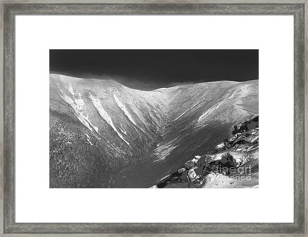 Hellgate Ravine - White Mountains New Hampshire Framed Print