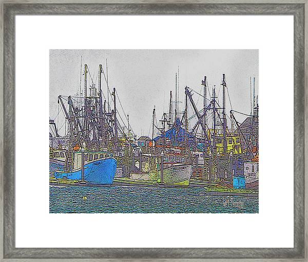 Helltown Framed Print