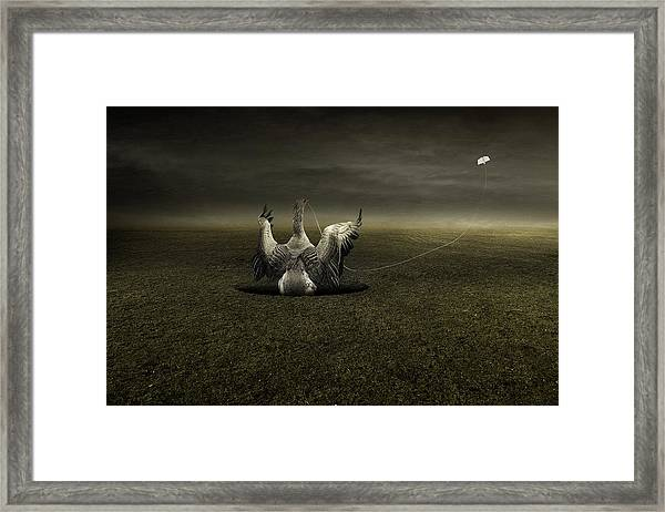Help On The Way Framed Print