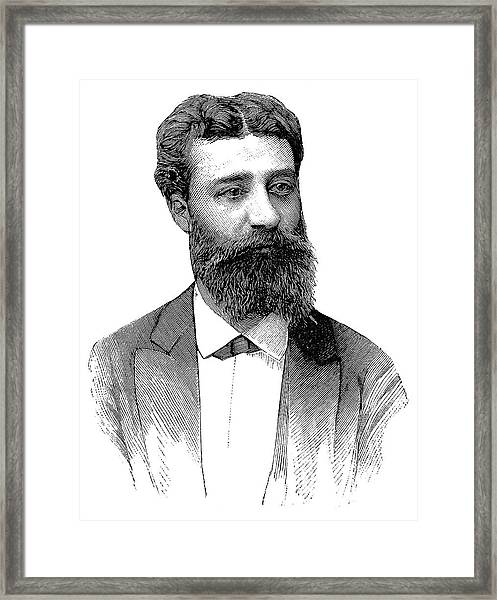 Henri Moissan Framed Print by Science Photo Library