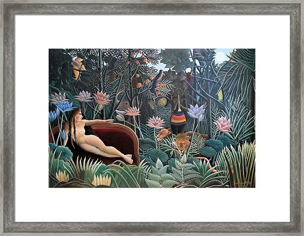 Henri Rousseau The Dream 1910 Framed Print