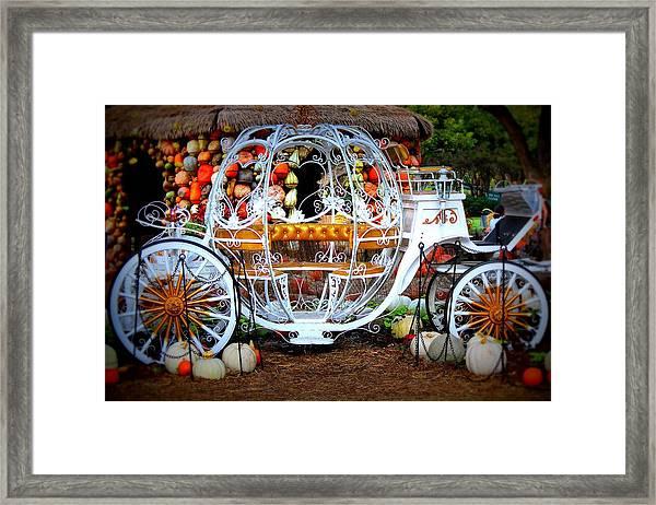 Her Chariot Awaits Framed Print by Sherwanda  Irvin