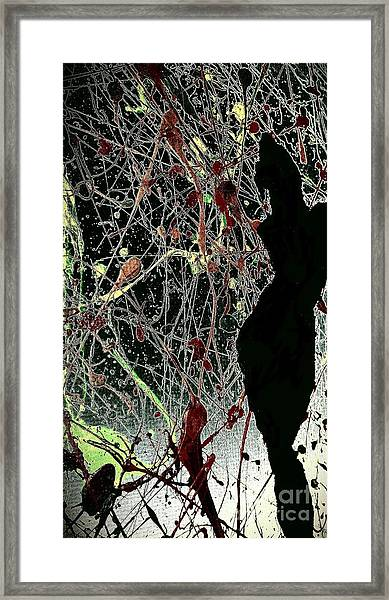 Her Crazy World Framed Print