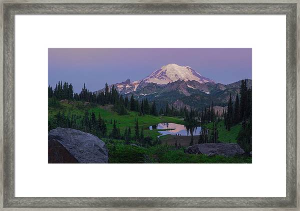 Her Majesty Framed Print