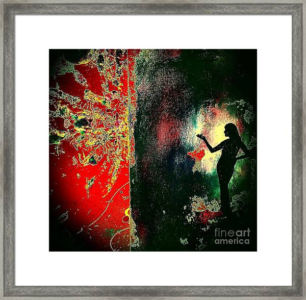 Her Power To Create Framed Print