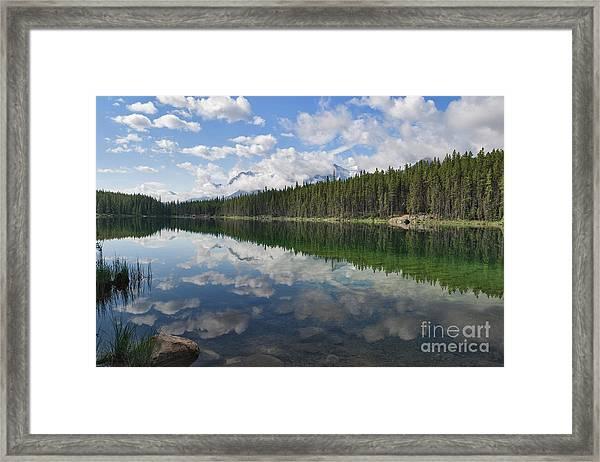 Herbert Mirror Framed Print
