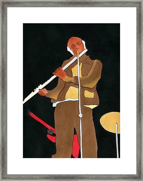 Herbie Mann Framed Print