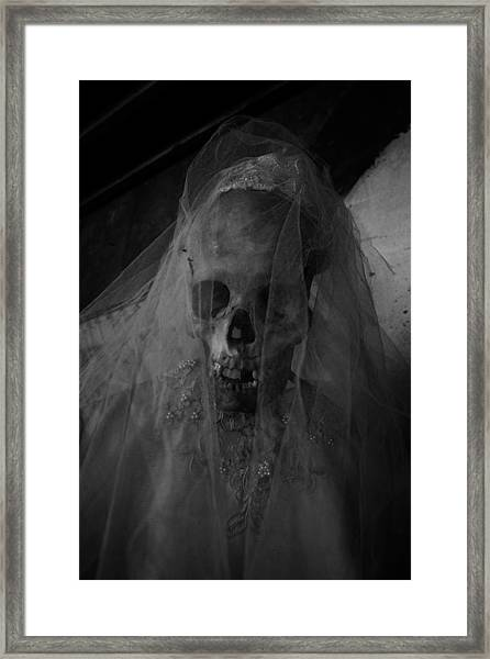 Herbies Dead Wife Lilith In New Orleans Framed Print