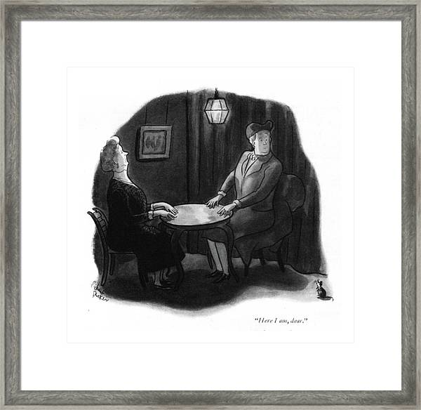 Here I Am, Dear Framed Print