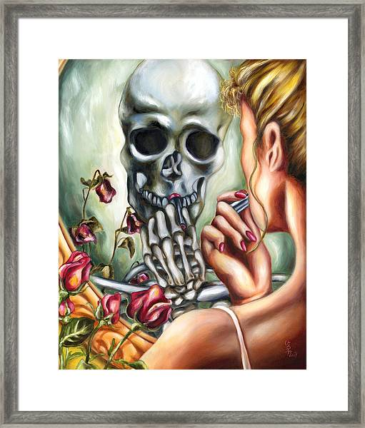 Here Today Gone Tomorrow Framed Print