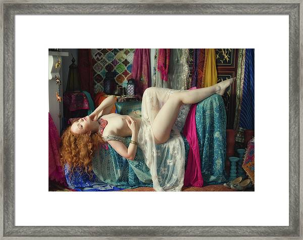 Herem Girl Framed Print