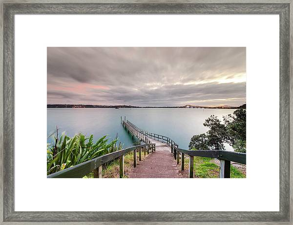 Herne Bay Jetty Framed Print