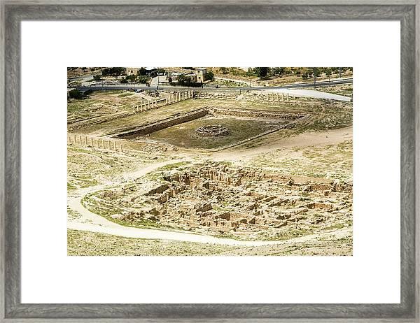 Herodion Lower City Framed Print
