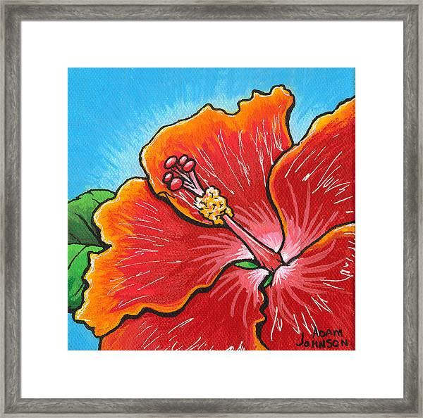 Hibiscus 06 Framed Print