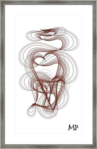 Hidden Hearts Framed Print