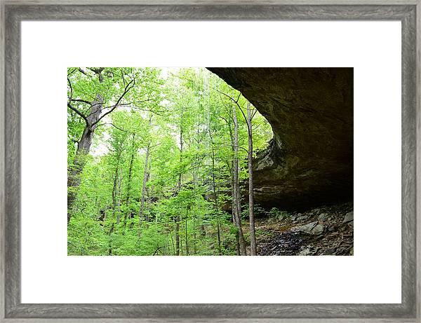 Hideout Hollow 3 Framed Print
