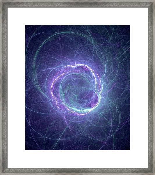Higgs Field Framed Print by David Parker