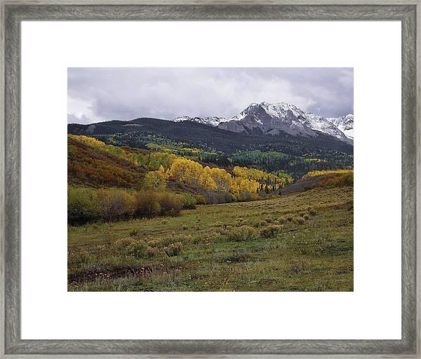 High Country Autumn Framed Print
