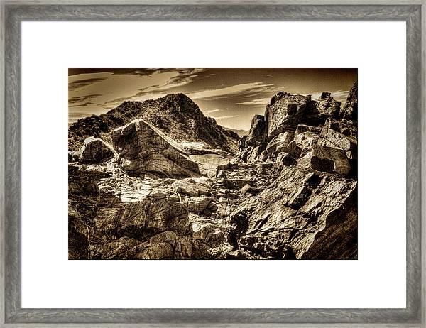 High Country Framed Print