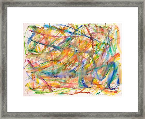 High Energy Framed Print