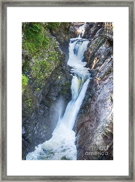 High Falls Gorge Framed Print