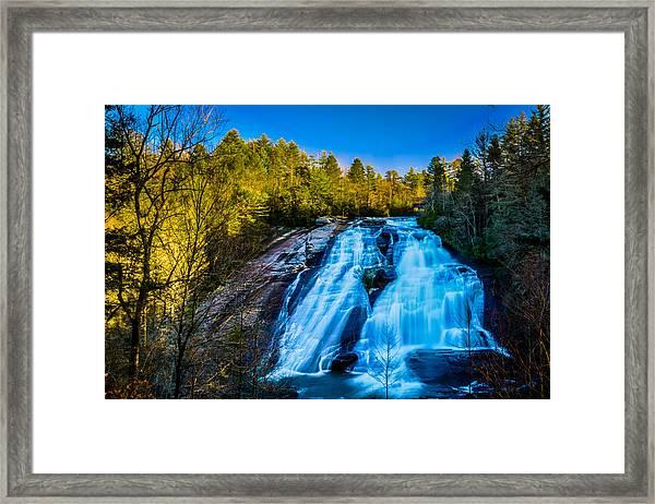 High Falls Framed Print