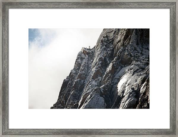 High Lookout Framed Print
