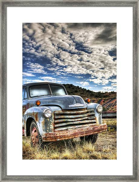 High Miles Framed Print