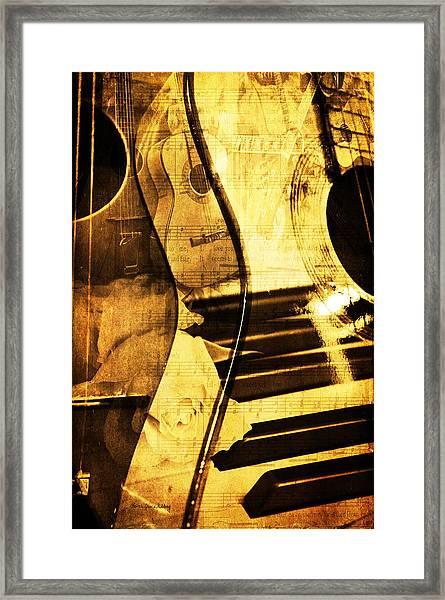 High On Music Framed Print