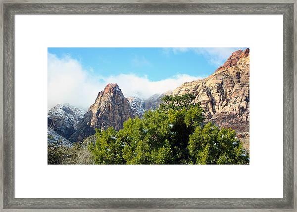 High Pass Framed Print