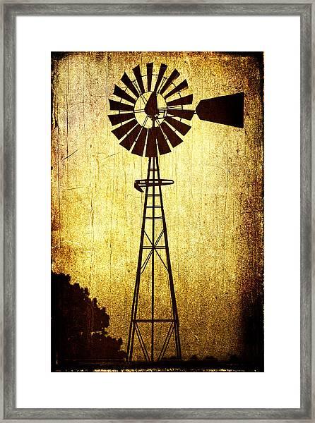 High Prairie Sentinel Framed Print