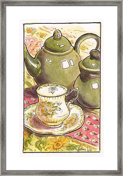 High Tea Framed Print