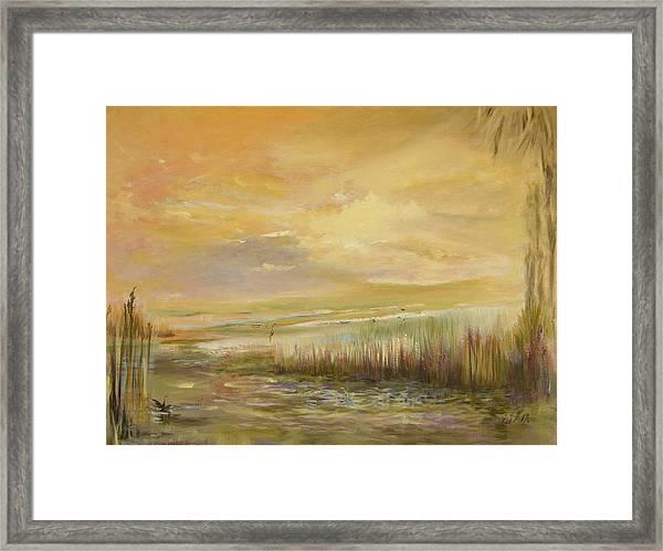 High Tide Framed Print