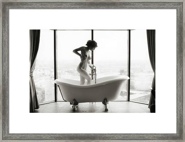 Highbath Framed Print