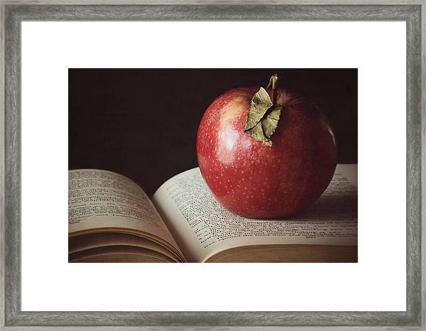 Higher Learning Framed Print