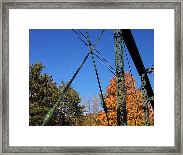 Highgate Falls Framed Print