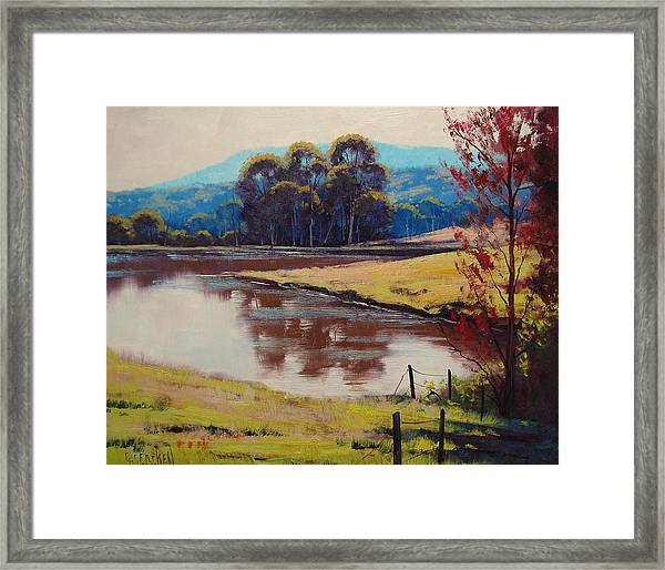 Highland Dam Framed Print